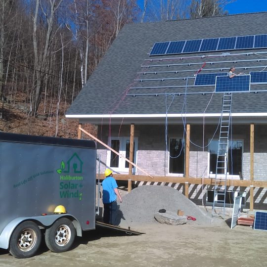 solar panel installation off grid ontario