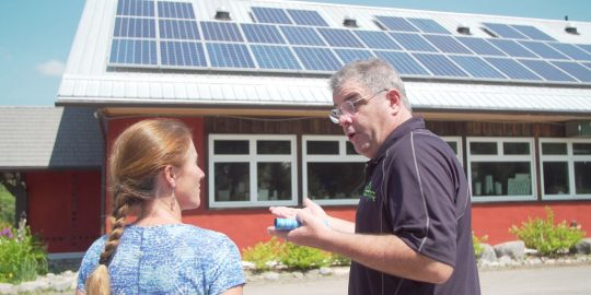 haliburton solar off grid demonstration centre